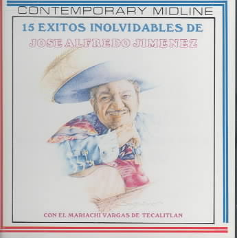 15 EXITOS INVOLVIDABLES DE BY JIMINEZ,JOSE ALFRED (CD)
